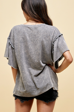 Load image into Gallery viewer, Garment Dyed Grey T-Shirt