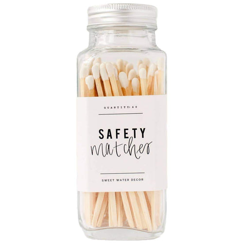 White Safety Matches