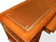 Load image into Gallery viewer, YEW Traditional English Antique Reproduction COMPUTER Desk