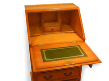 Load image into Gallery viewer, YEW Traditional English Antique Reproduction Bureau