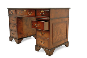 Luxury BURR WALNUT EXECUTIVE Desk