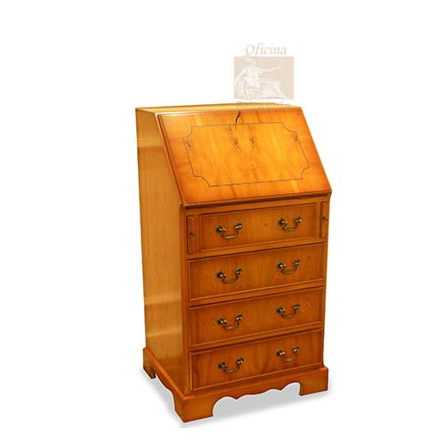 YEW Traditional English Antique Reproduction Bureau
