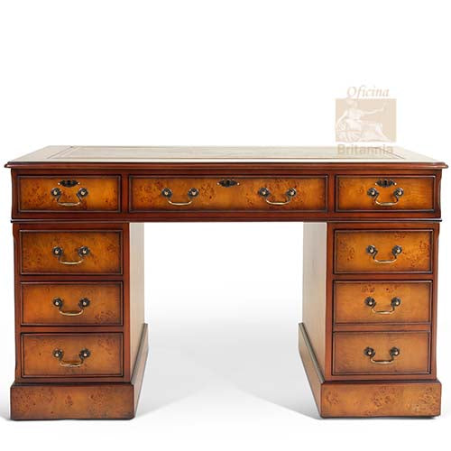 Burr Poplar Desk