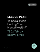 Load image into Gallery viewer, FREE Lesson Plan #1 | TEDx Talk: Is Social Media Hurting Your Mental Health