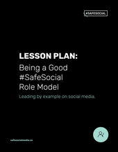 Load image into Gallery viewer, Lesson Plan #6 | #SafeSocial Role Models & Commitments