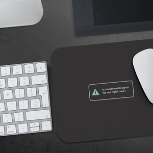 """Self Check-Ins"" Mousepads"