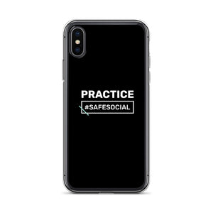 """Practice #SafeSocial"" iPhone Cases"
