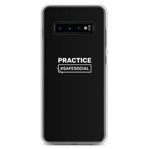 """Practice #SafeSocial"" Samsung Phone Cases"