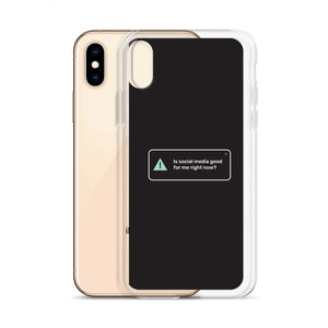 """Self Check-Ins"" iPhone Cases 2"