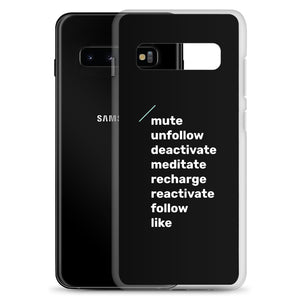 """Big Words"" Samsung Phone Cases"