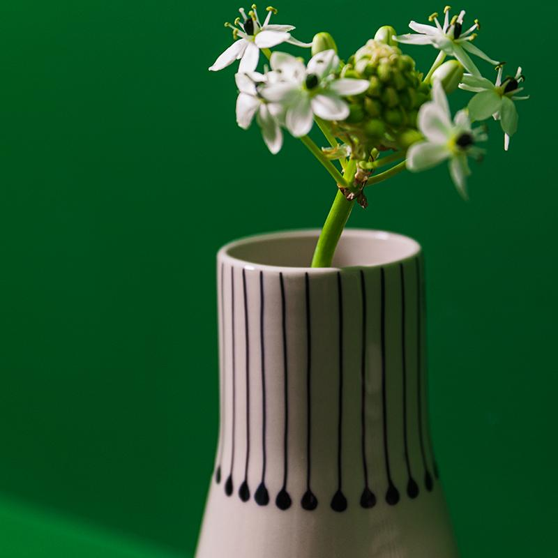 Vases blancs design