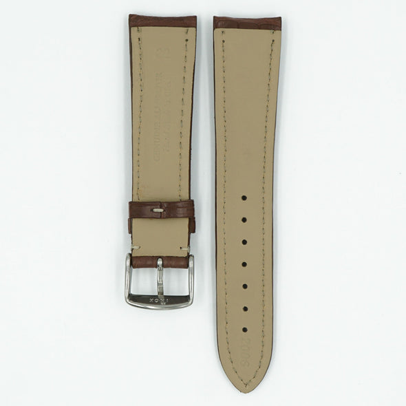 Alligator Matte Chesnut Watch Strap