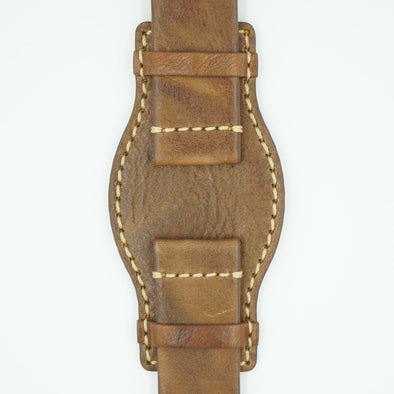 Brown Vintage Leather Bund Band