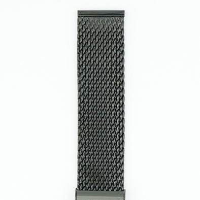 Milanese Mesh Black PVD Watch Band