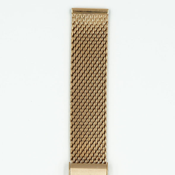 Milanese Rose Gold Tone Watch Band