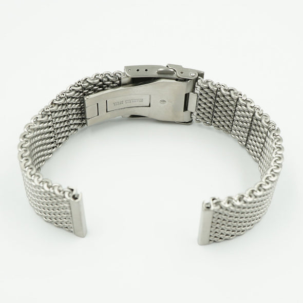 Shark Stainless Steel Mesh Watch Bracelet