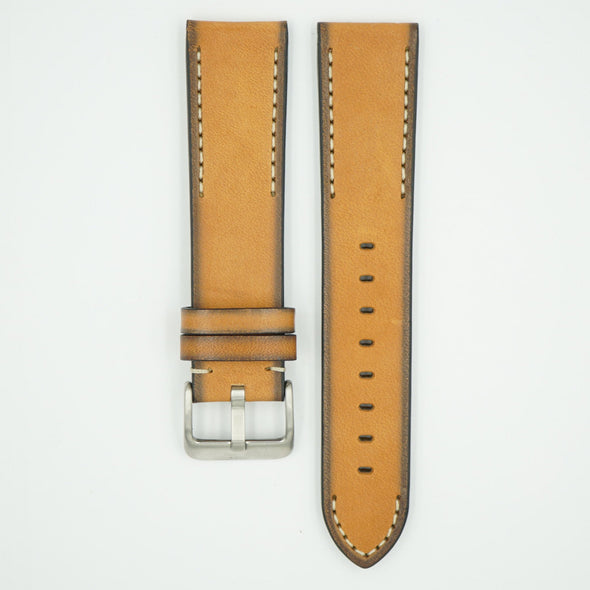 Handmade Vintage Tan Leather Strap