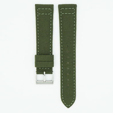 Cordura Fabric Green Watch Strap