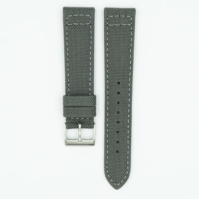 Cordura Fabric Grey Watch Strap