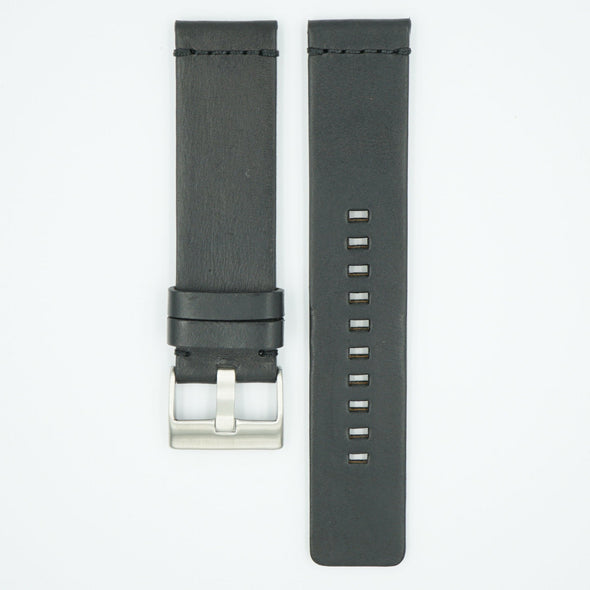 Chromexcel Horween Leather Watch Strap - Black