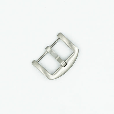 Brushed Stainless Steel Heavy Watch Buckle