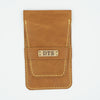 Smooth Tan Leather Watch Pouch