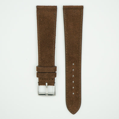 Soft Suede Brown Watch Strap