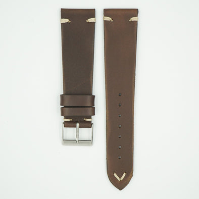 Italia Vintage Brown Leather Strap