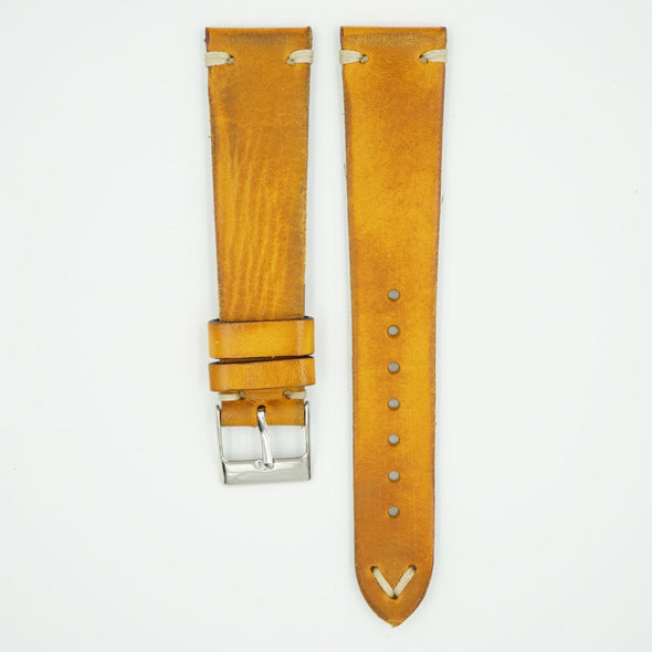 Italia Vintage Oak Leather Strap