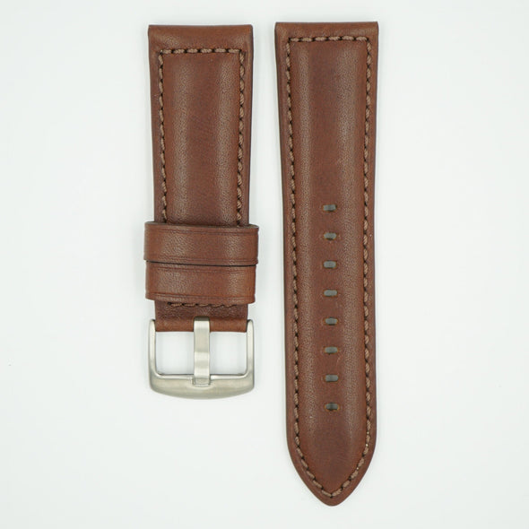 Brown Horween Leather Watch Strap