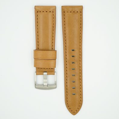Mocha Horween Leather Watch Strap