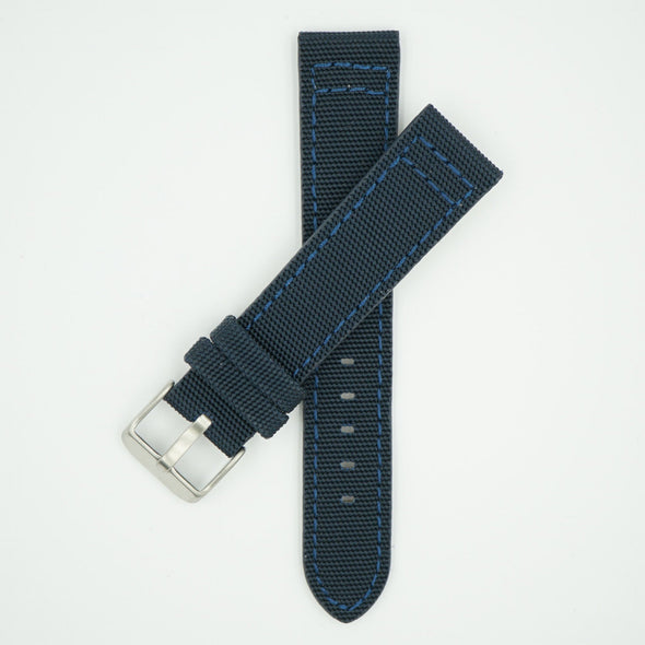 Canvas Watch Strap Blue