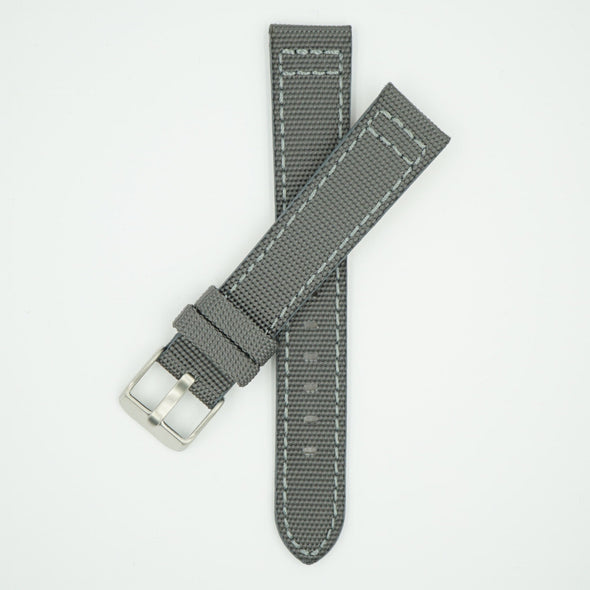Canvas Watch Strap Gray