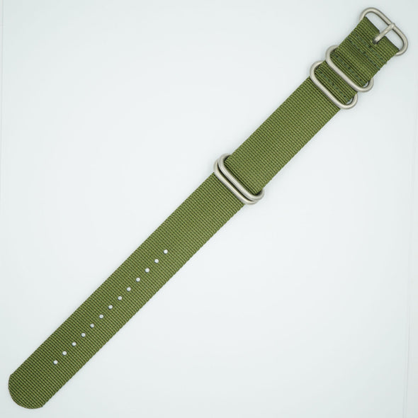 Green Heavy NATO Watch Strap