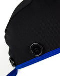 Ear Relief Standard Cap (BLACK W/ BLUE)