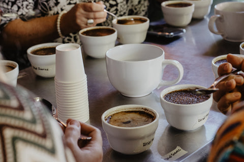 cupping coffee method