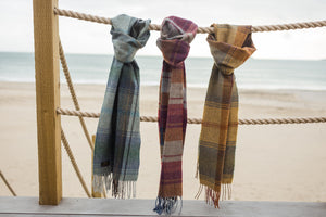 Country Check - Jura Lambswool Fringe Scarf