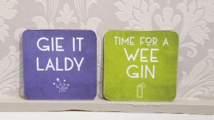 Scottish Coasters by Truly Scotland