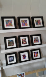 Load image into Gallery viewer, Mini SQ Framed Print By Glasgow Artist Andy Hurst