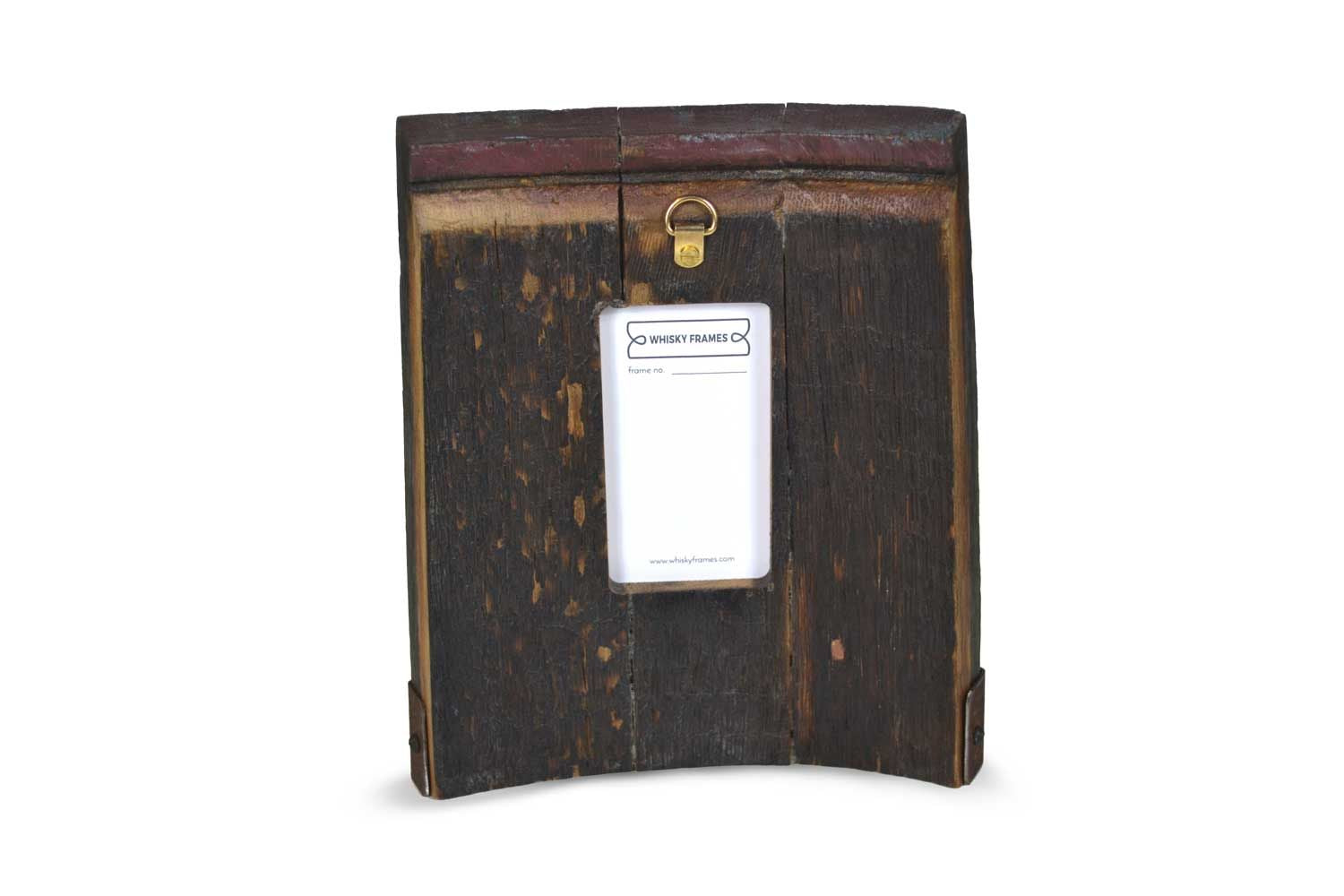 Whisky Barrel Ring Chime Frame Made in Scotland by Whisky Frames