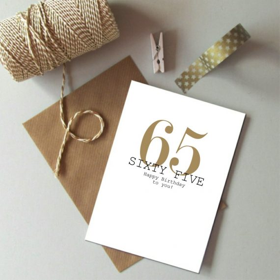 Age Birthday Always Sparkle - Just Words Cards 40 - 65 years