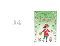 LITTLE STICKER DOLLY DRESSING CHRISTMAS BOOK