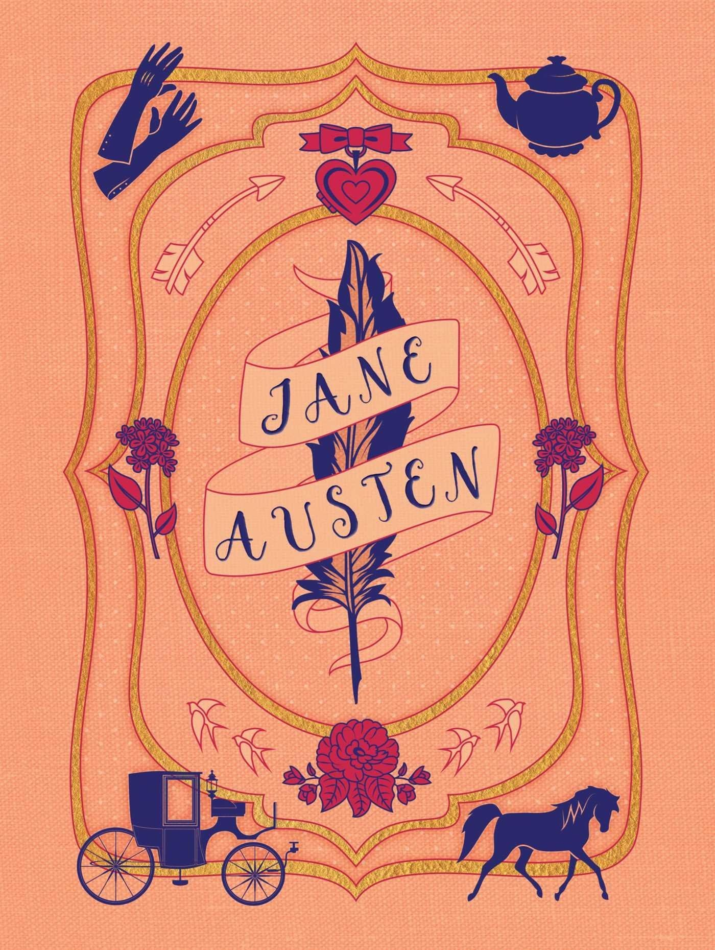 Jane Austen Literary Stationery Set