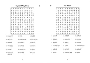 Flowery Puzzles Wordsearch