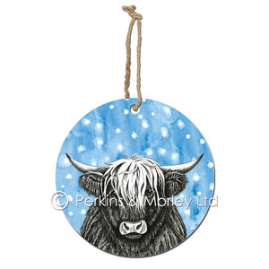 Animal Ink Christmas Decorations by Perkins & Morley