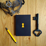 Load image into Gallery viewer, Clavis & Claustra Key Hole Black Notebook