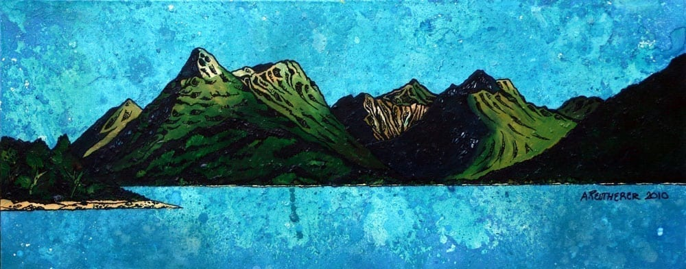 Glencoe Long Cards by Andy Peutherer