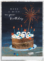 Load image into Gallery viewer, Cobalt Birthday Cards
