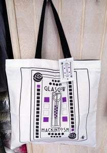 Brave - Mackintosh Shopper Bag CRM Glasgow White