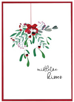 Load image into Gallery viewer, Romantic 'Cranberry Sauce' Christmas Cards by Cinnamon Aitch